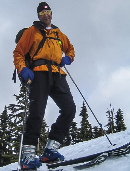 Rich Haywood, ACMG Asst Ski Guide