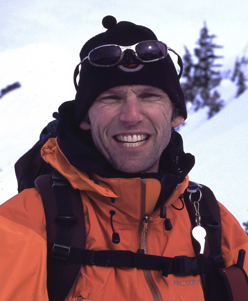 Chris Lawrence, ACMG Mountain Guide