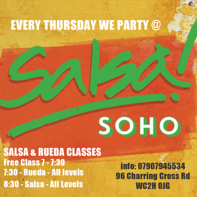Bailando Thursday @ Bar Salsa Soho