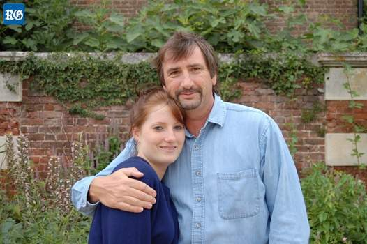 LOSS co-founder Chris Gibbons with late daughter Jessica.