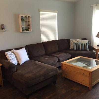 Client Living Room after Cleaning