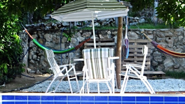 The Place To Swim and Tan – Our Pool