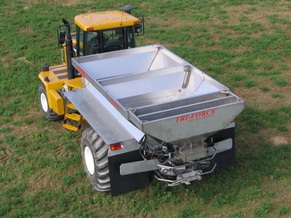 Four Bin Spreader (Quad Force)