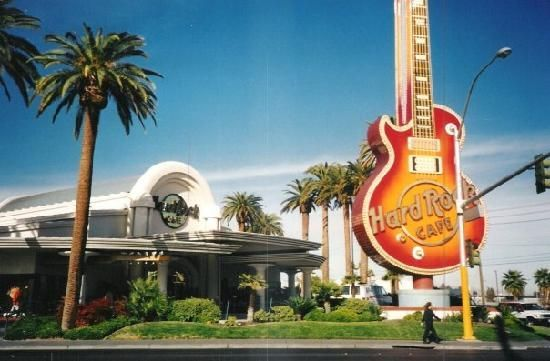Hard Rock Cafe - Las Vegas 1990