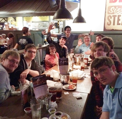 College & Young Adult Group at Logans