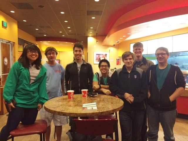 College and Young Adult Group at Panda Express