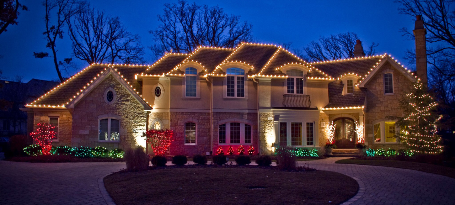 We install Christmas lights! All custom made for your home or business.  Rent them from us and we store them for you!  Choose any color scenario.  Professionally installed with 24 hour call service.  Serving Raleigh, Durham, Wake Forest, Cary and the surrounding areas.