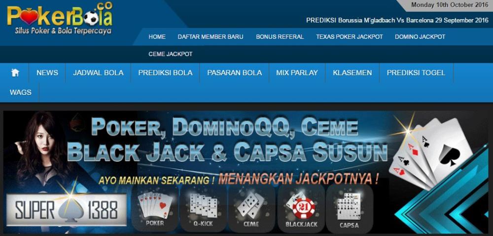 Situs Poker Online Dibandingkan Game Lainnya SBOBET