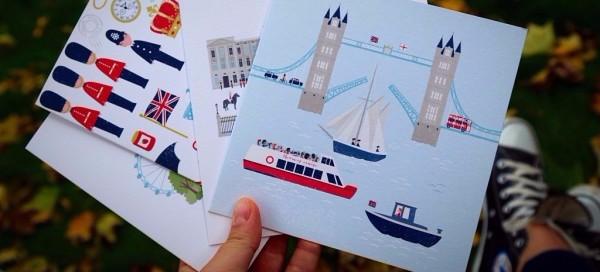 """""""Wyślij sobie pocztówkę"""" I edycja Londyn"""