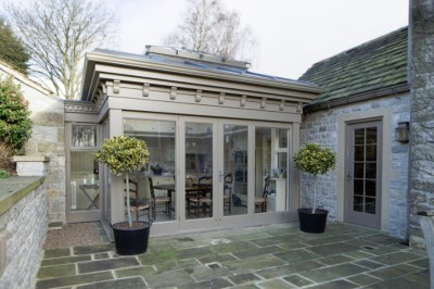 architect designed orangery