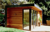Cedar clad garden retreat