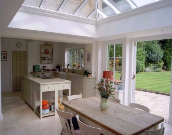 kitchen orangery interior