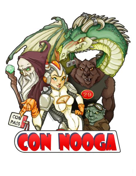 Managing Con Nooga since 2008!