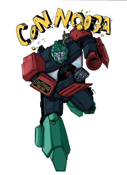 Con Nooga's Iconic Transformer