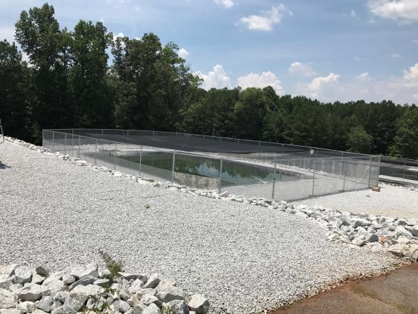Goldfish farm in the US