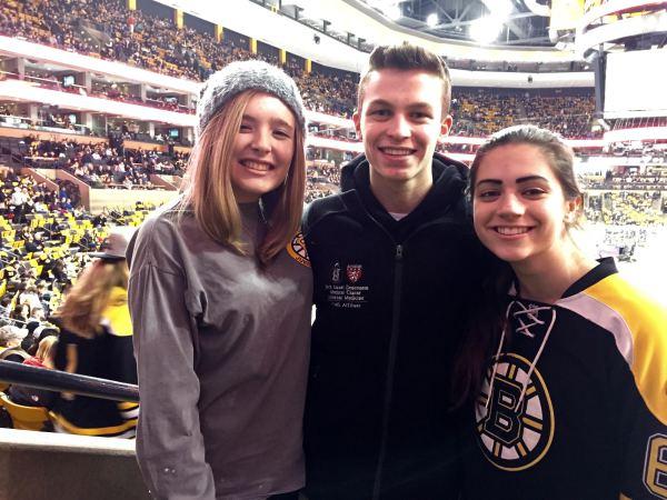 Bruins Game - February 2015