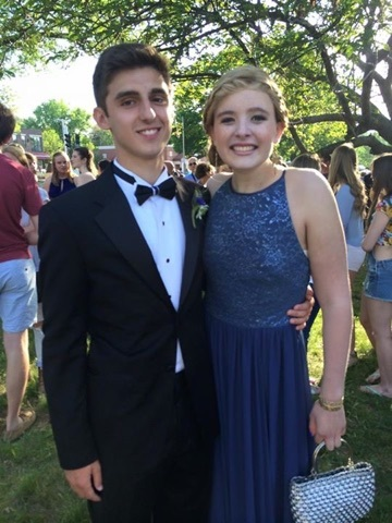 Peter and Catherine - Jr. Prom - May 2015