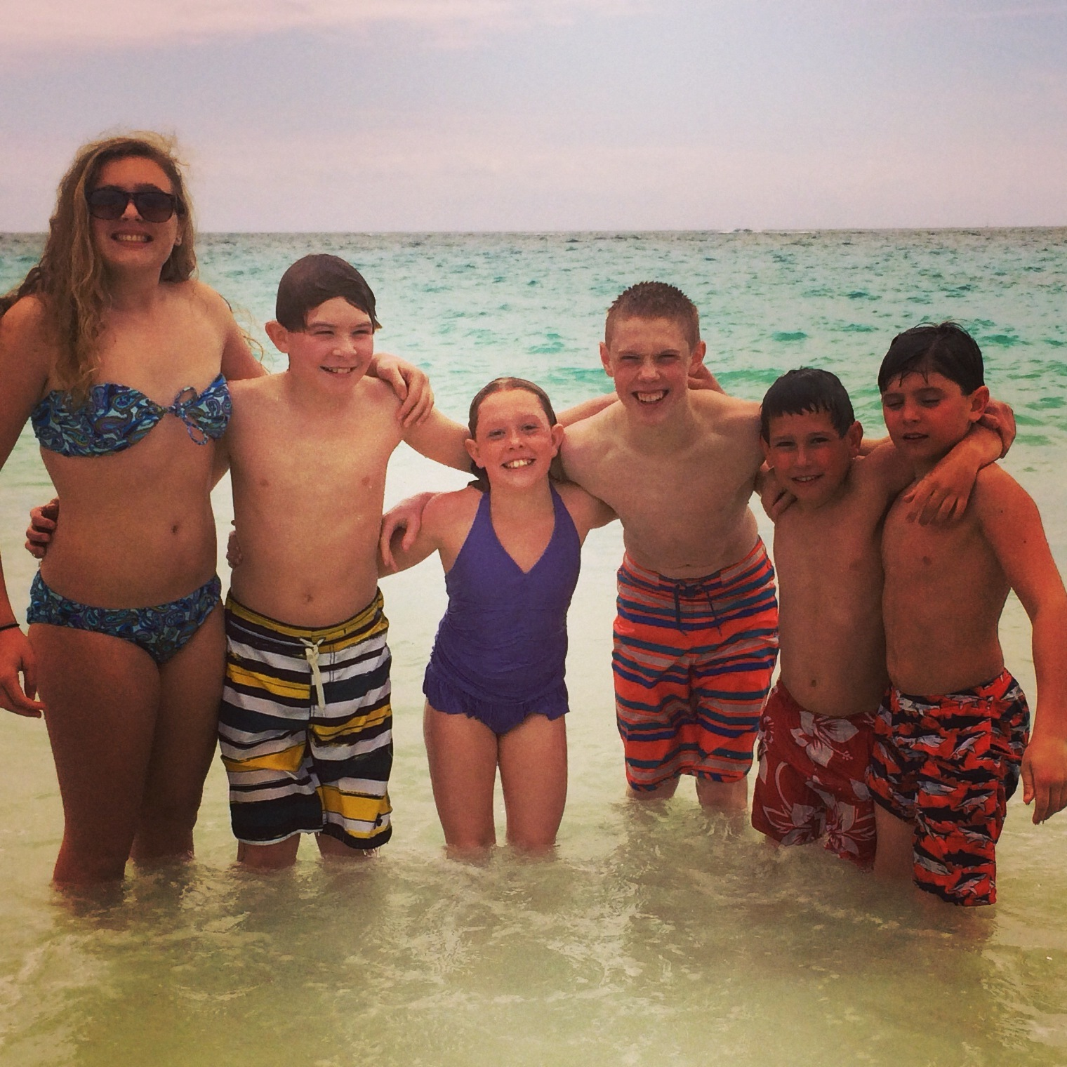 Bermuda with the cousins