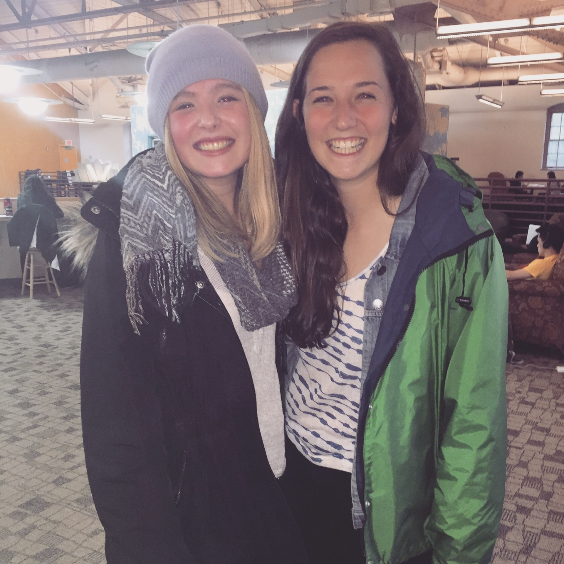 Catherine and Kate, April 2015