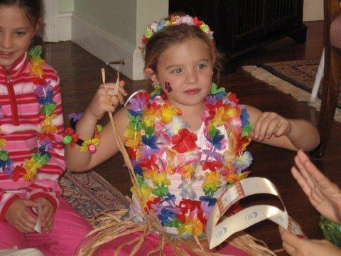 Hawaiian Luau Birthday Party