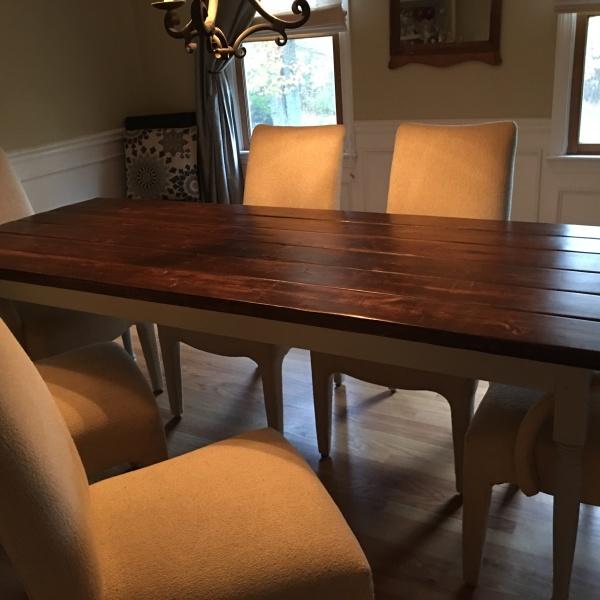 7 Foot Farmhouse Table
