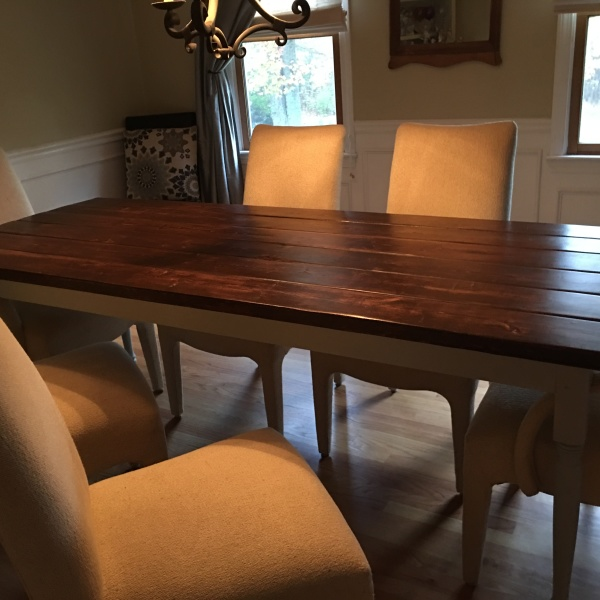 7 Foot Farmhouse Table