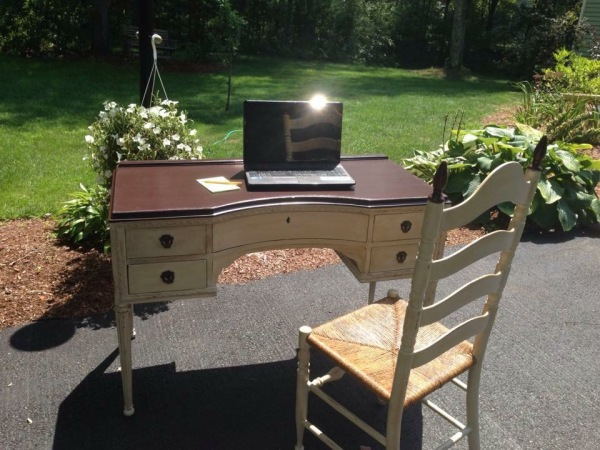 Antique Desk - A complete makeover!