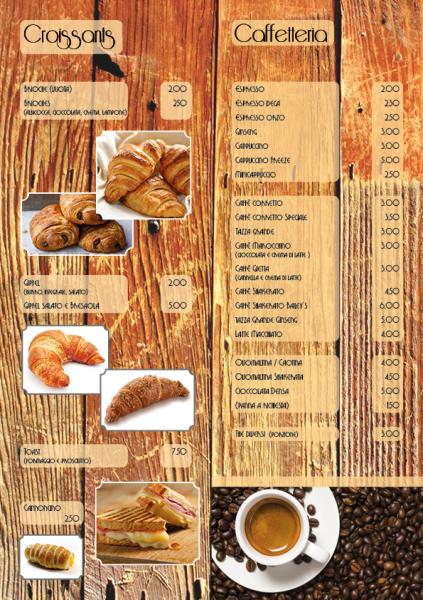 Carta Breakfast A4 piegato Lugano