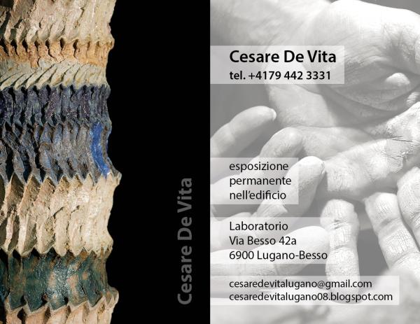 Biglietto Visita Cesare De Vita