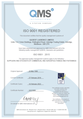 QMS ISO 9001-2015 Approved