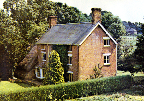 Postcard of house