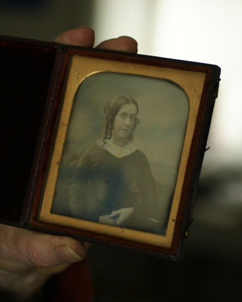 Daguerreotype of mother