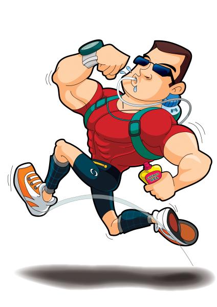 Jogger Character Design