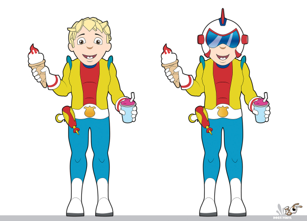 Spaceboy Graphics for Character Mascot