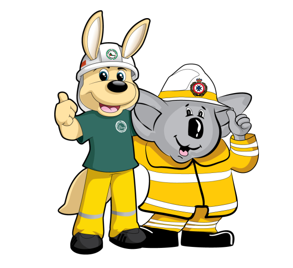 Character Design for Queensland Rural Fire Service