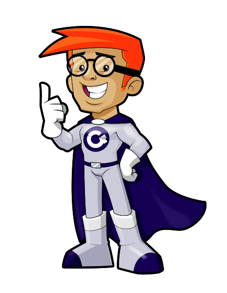 Character Mascot for 'Aylesbury Geeks'