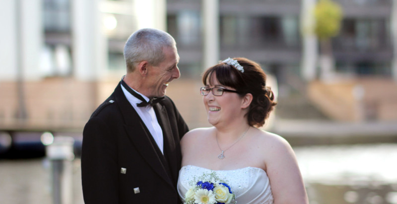 Edinburgh Wedding Photography - Kimberley & Darren at the Canel in Edinburgh