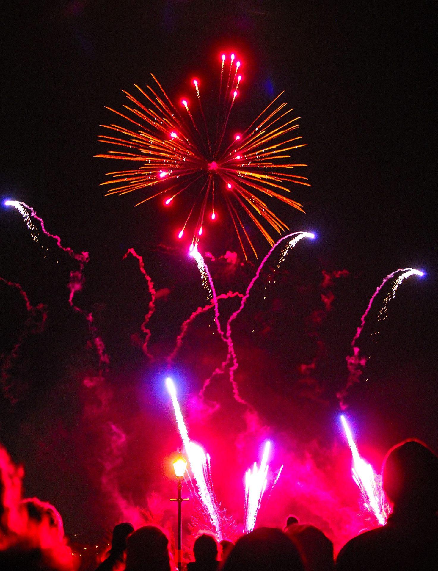 Dunfermline fireworks display Novmber 2016