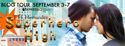Superhero High Blog Tour