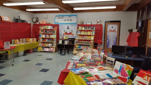 Bishop Pinkham School Book Fair