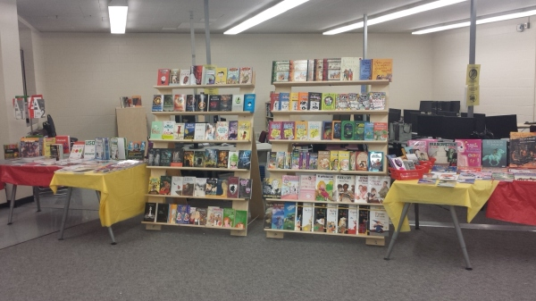 Senator Patrick Burns School Book Fair