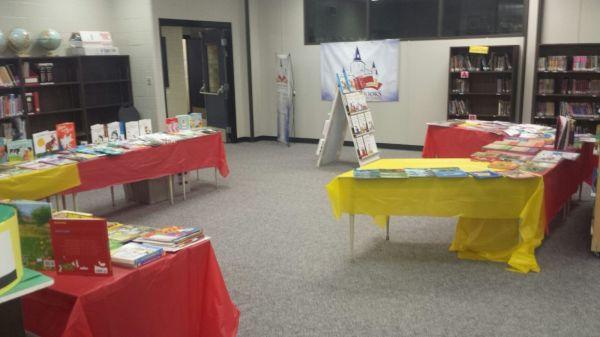 W.O. Mitchell School Book Fair