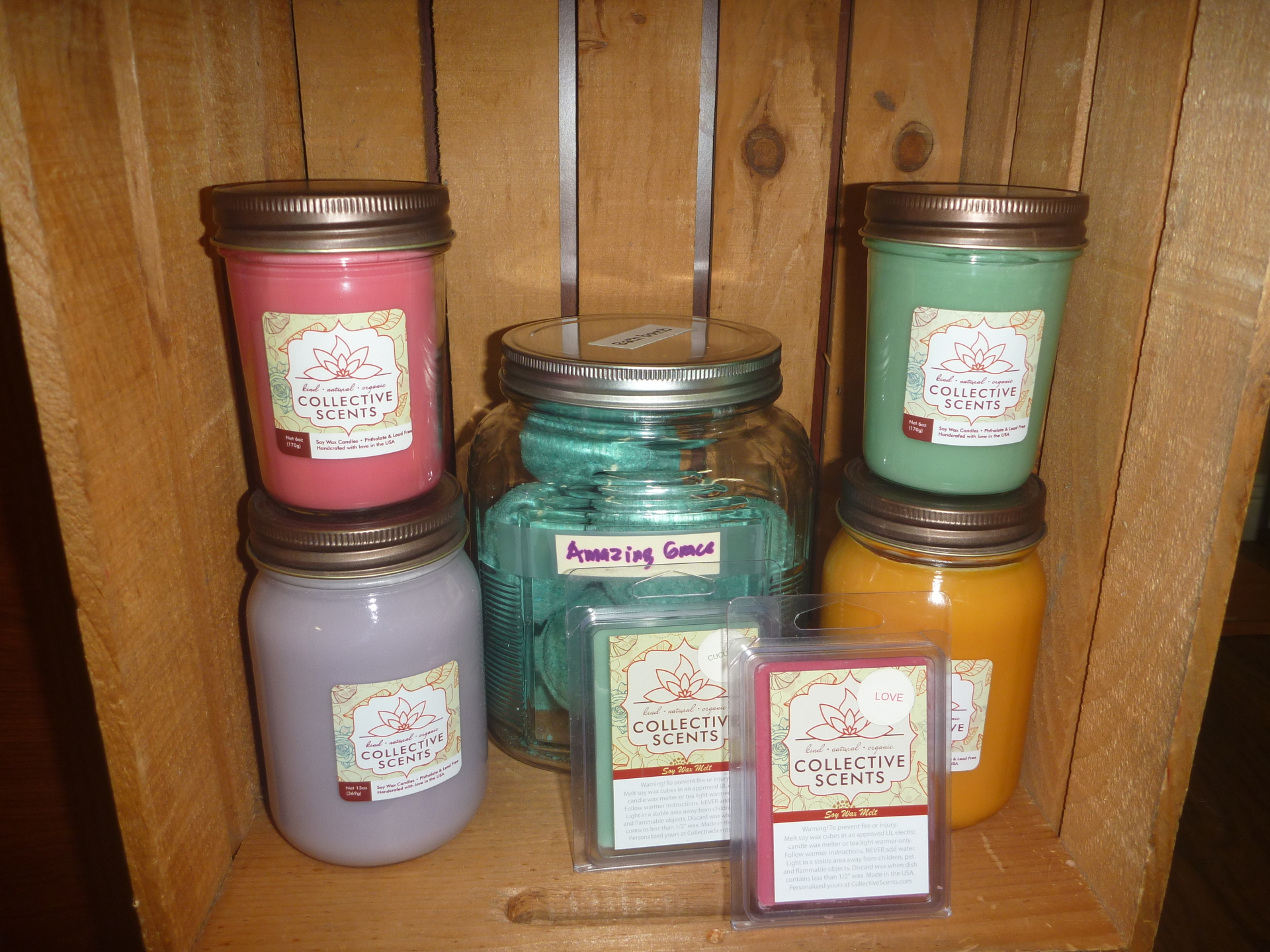 Soy Candles & Melts