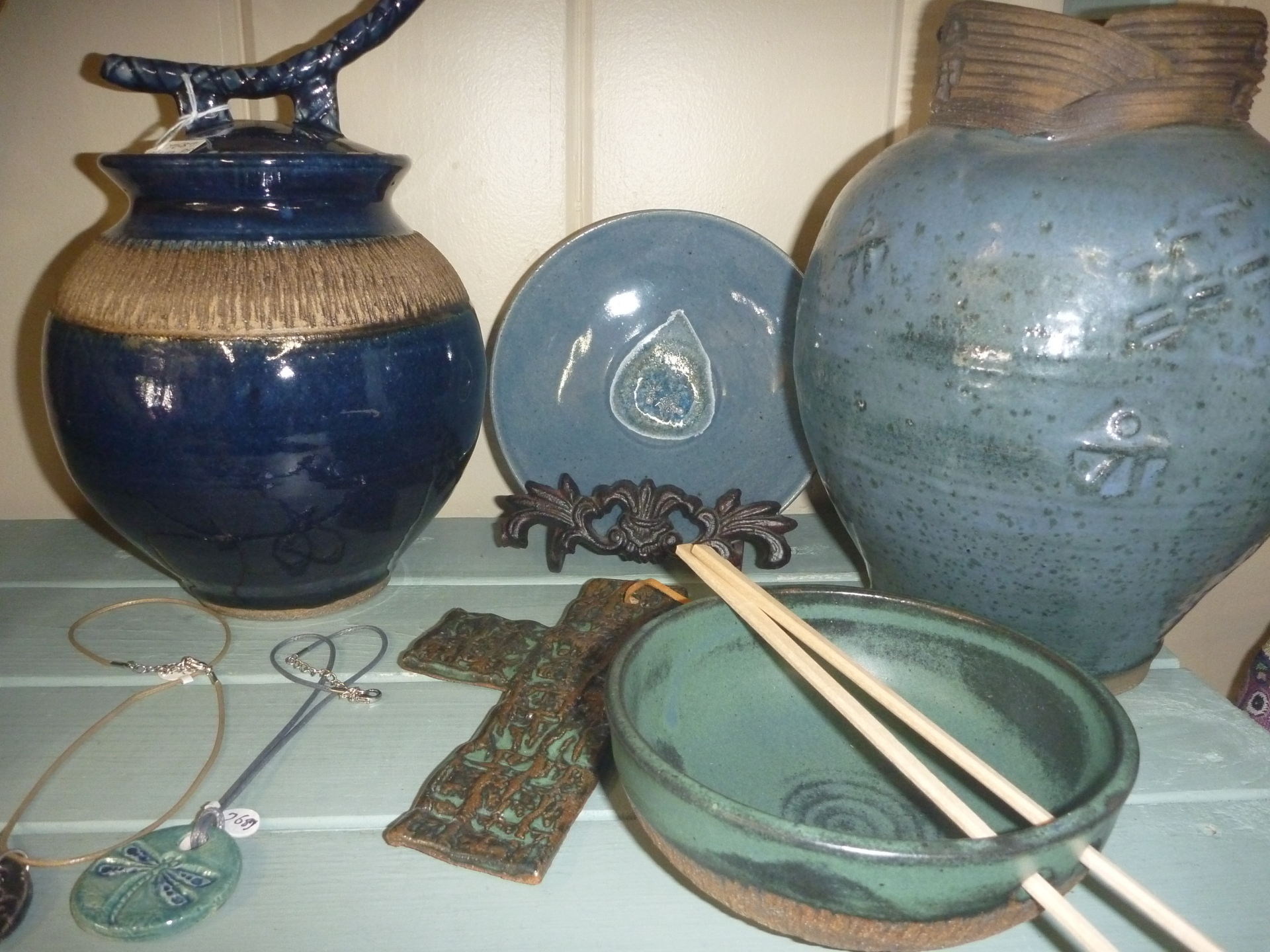 Pottery & Leather