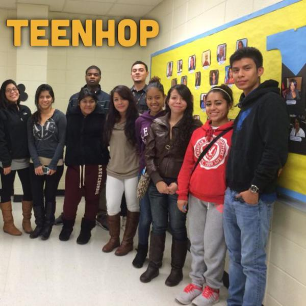 TeenHOP Provide Training to High Schools