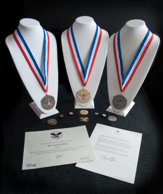 Presidental Awards For Volunteering