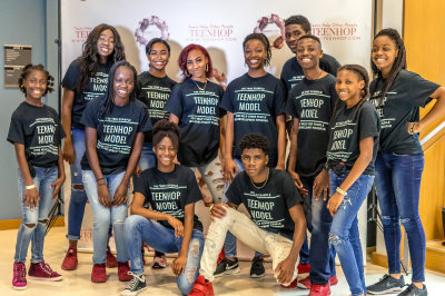 models, teenhop, fashion show, self-development, volunteer, leadership