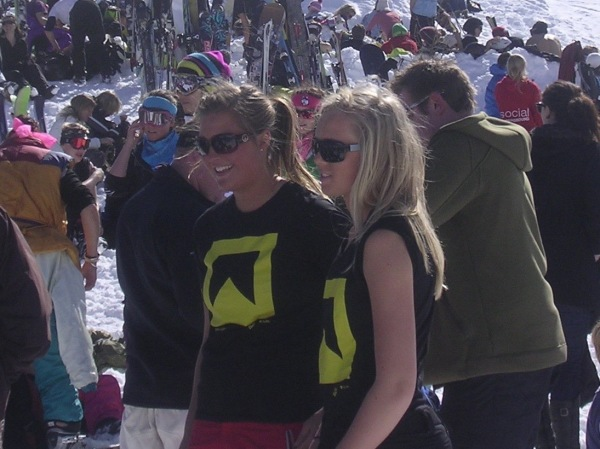 Am I cool because I work in a ski resort?