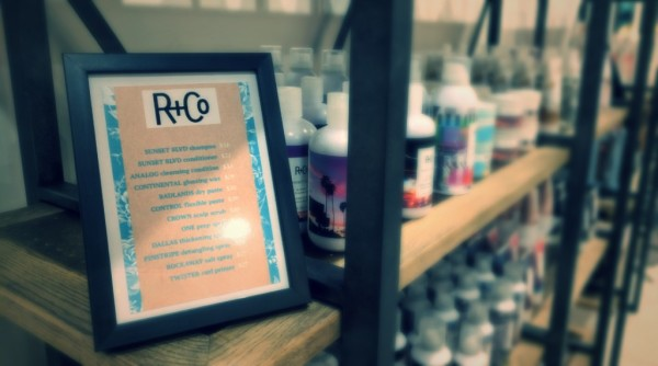 R&Co Shelf Talker