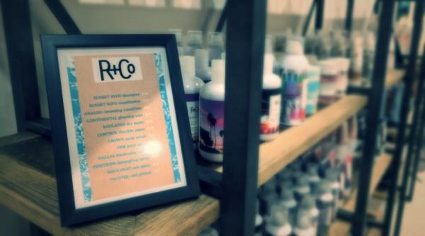 R&Co Shelf Talker
